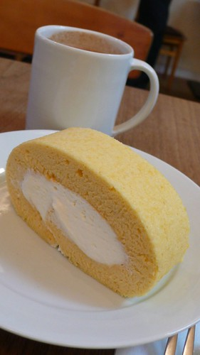 a roll cake