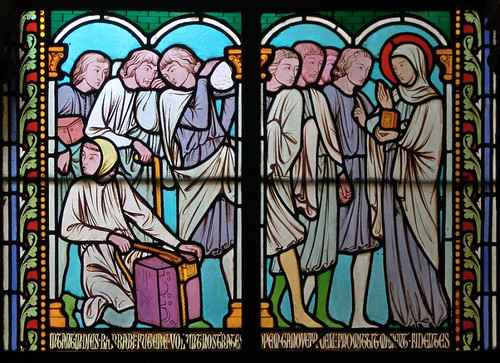 006- Vitral nº 6 clausto de Notre Dame de Paris