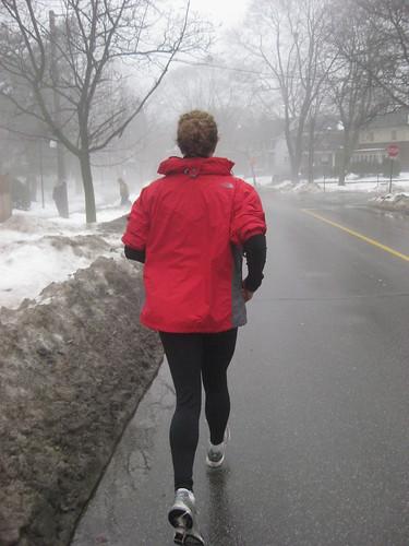 Training Run in Mount Pleasant Cemetery