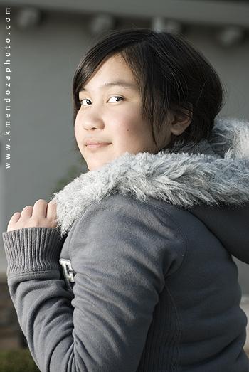 little miss t attitude portrait photography