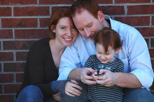 Family pics blooper 2
