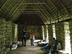 Restored Inca Dwelling - Machu Picchu Peru