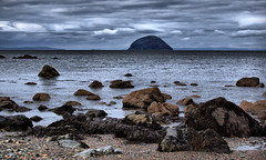 Ailsa Craig (Dan Baillie) Tags: winter sea sky seascape beach island scotland nikon rocks portfolio ayrshire dumfriesandgalloway girvan ailsacraig puddock danbaillie rubyphotographer bailliephotographycouk bailliephotography wigtownshirephotographer
