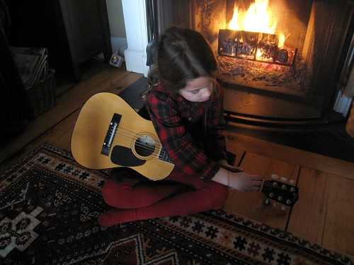 Emma Playing Guitar