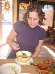 Tortilla Soup (WestSideLaura) Tags: mexico krista rockypoint puertopeasco