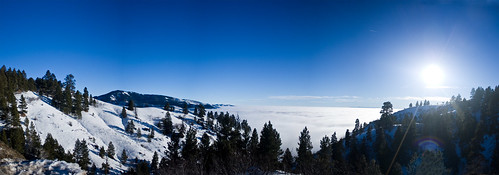 Above the Cloud - Panorama