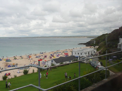 Porthminster Beach , St.Ives ,  From The Train Station