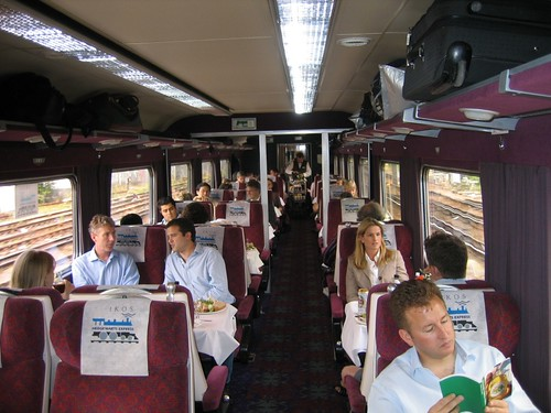 Train Chartering - First Class carriage