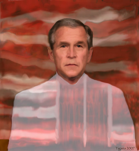 drawger America Scream bush