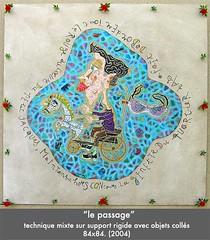 Le passage (louisphilippevivien) Tags: painting paint rawart dessin peinture artbrut tableau toile peintre artsingulier figurationlibre louisphilippevivien