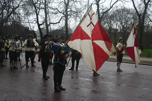 "English Civil War Society Remember the ""murder"" of King Charles I"
