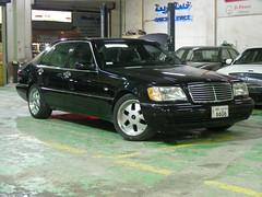 Mercedes-Benz S600L '97 - W140 (q8500e) Tags: black hot wow mercedes benz cool king s 600 mercedesbenz beast 1997 kuwait 12 97 q8 v12 140 sclass s600 w140 lwb larg 400hp q8i s600l q8500e