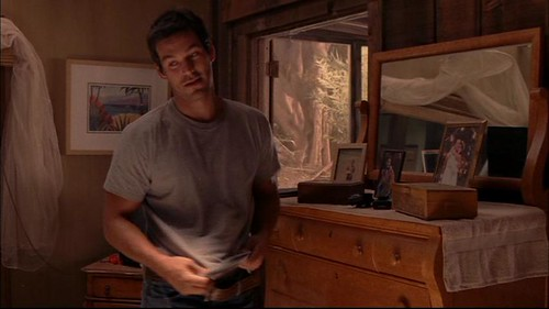 Eddie Cibrian Shirtless in Invasion