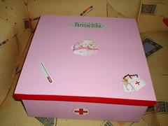 Caixa para remdios (Malu Mocarzel - M.L. Artes) Tags: decoupage caixas farmacinha