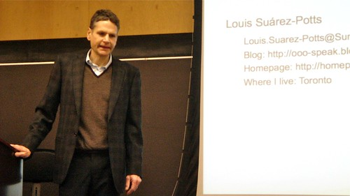 Louis Suarez-Potts @ UB