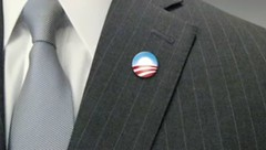 Obama O Logo Lapel Pin