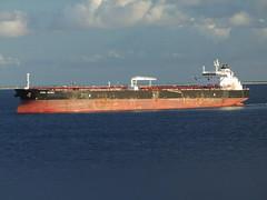 Axel Spirit (R&AH) Tags: ship bow oil caribbean petrol merchant tanker bulbousbow