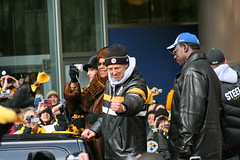 Dick LeBeau (Deepak & Sunitha) Tags: pittsburgh dick nfl super bowl victory parade title superbowl sixth celebrate defense 2009 steelers champions grantstreet gosteelers terribletowel herewego lebeau steelernation xliii sixburgh slashd