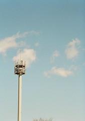 アンテナと冬の空