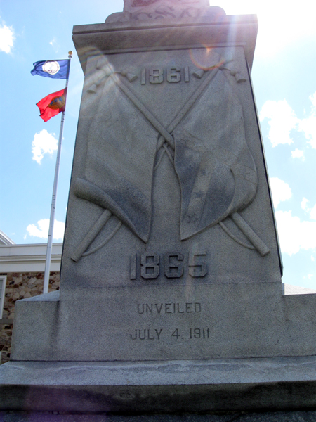 Civil War Monument (Click to enlarge)