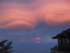 Lenticular clouds 04.26.2010