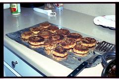 eggplant parmesan (magnafurious) Tags: food film 35mm kodak vegetarian ricohkr5 ed200 elitechrome200 rikenon50mmf14 expiredyr2000