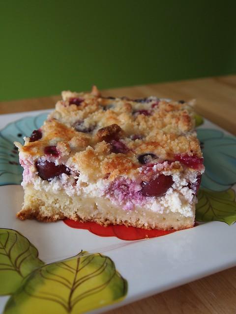 cherrie cake - Kirschfleck
