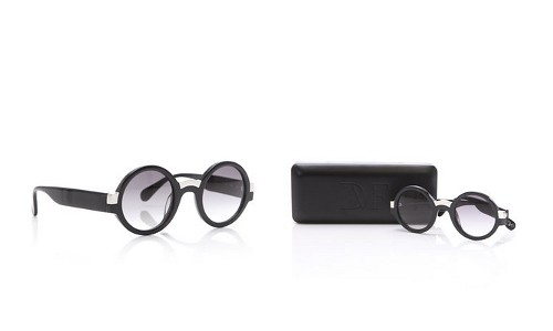 Diane von Furstenberg Retro Round Fashion Sunglasses