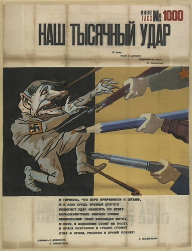 Windows on the War: Soviet TASS Posters at Home and Beyond 1941-1945 by billy craven