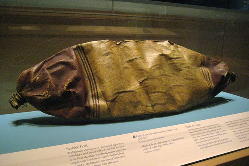 NYC - National Museum of the American Indian - Sealskin Whaling Float
