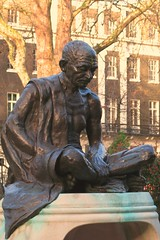 Gandhi sculpture Tavistock Square (mike_smith's_flickr) Tags: sculpture india london statue peace camden bust bloomsbury gandhi 2012 london2012 londontown londonsquares visitlondon tavistocksquare woburnplace southamptonrow londonparks olympiccity mylondon londongames greatestcityintheworld touristlondon