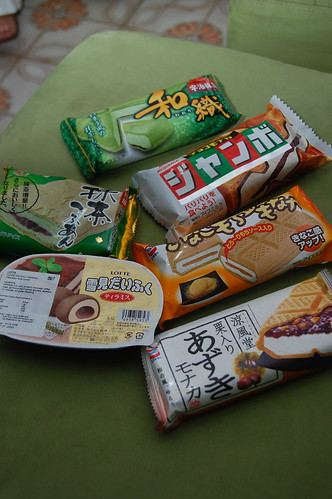 Japanese Ice Creams!