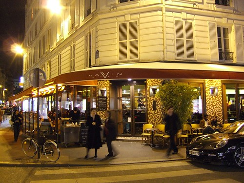 Rue Vavin and brasserie