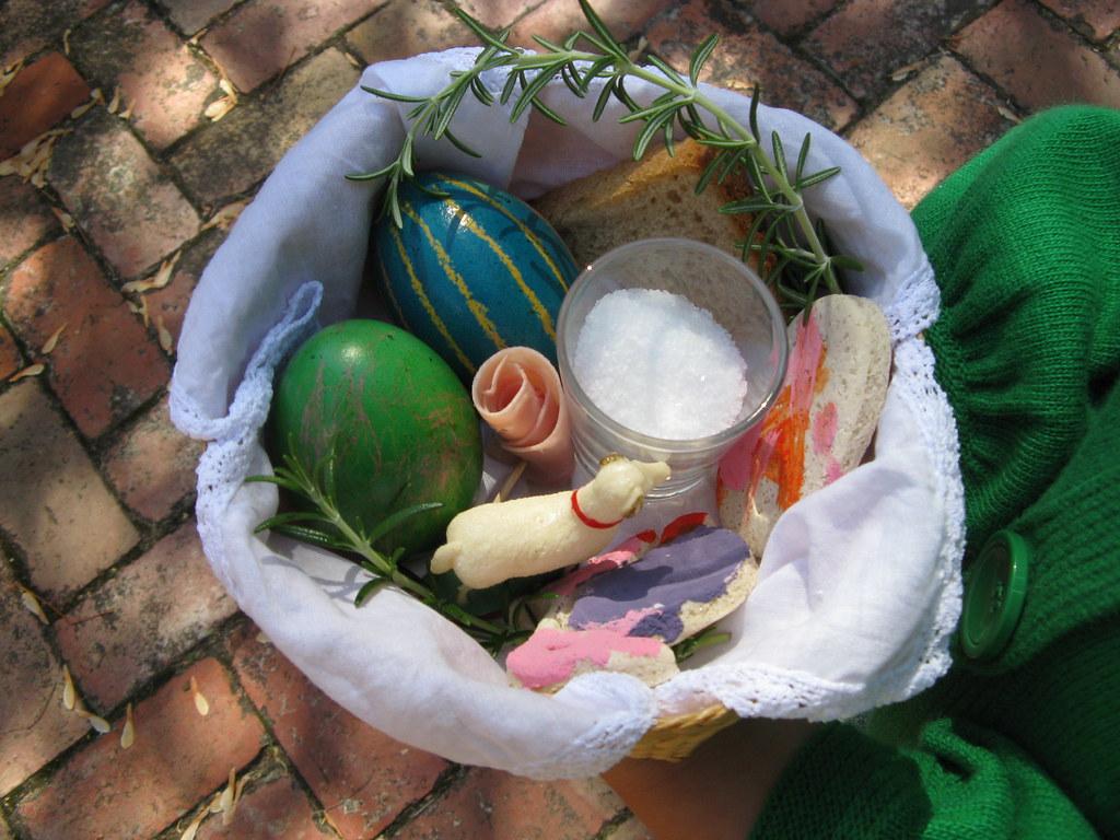 Polish Easter basket
