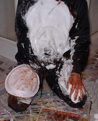 Pie to the Chest B (splishsplash1123) Tags: beer pudding pies eggs nylon wam gunge
