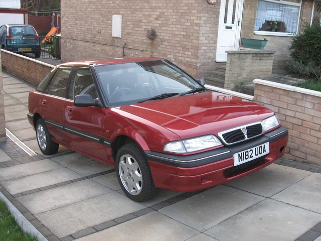 One of two Rover 214 SEi's that I own. (EDIT: Now sold!)