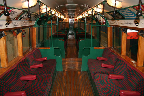 Inside the carriages - 2