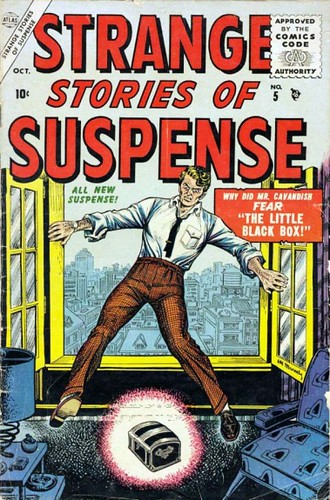 Strange Stories of Suspense 5 cov