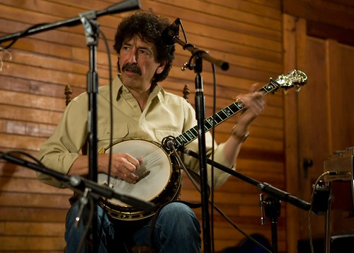Gordon Titcomb on banjo