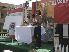 Top Chef host Padma Lakshmi reads from her book. (04/27/2008)
