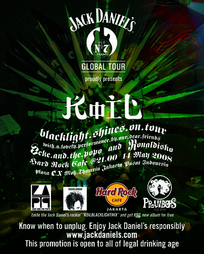 blacklight tour hardrock jakarta (12x15)cm