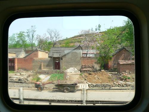 Fenêtre du train