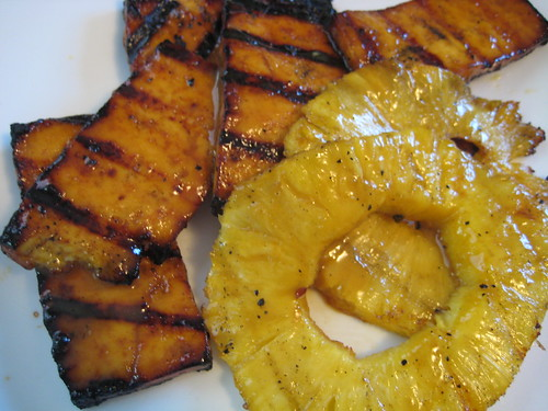 Grilled Citrus Tofu and Pineapple