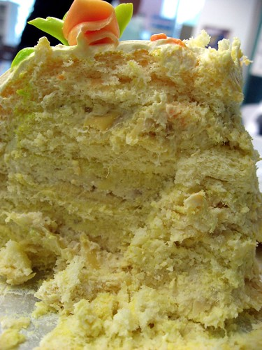 Durian Sponge Cake Blog