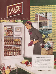 schlitz.jpg (by golly molly) Tags: vintage magazine 1940 ephemera colliers 1950