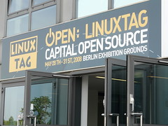 LinuxTag entrance
