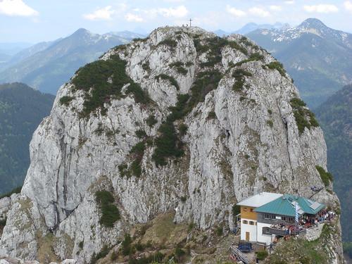 Buchstein und Tegernseer Hütte
