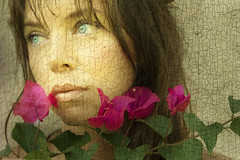 Behind her flowers there are thorns (Daneli) Tags: portrait by self florida inspired dana been rudeness verobeach flowery themoulinrouge firstquality daneli vision100 vaneskastexturesaregorgeous