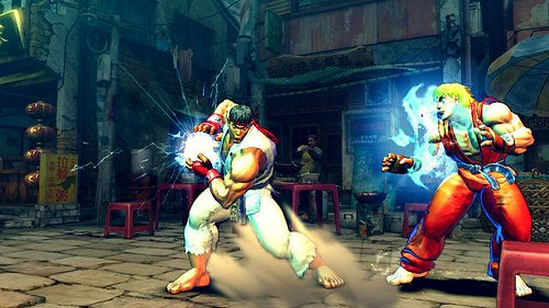 street fighter IV character trailer