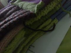 Mystery blanket (joandshea) Tags: blanket 2008 kal debbieabrahams